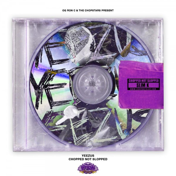 yeezus chopped not slopped