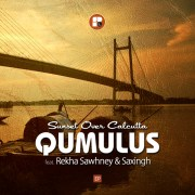 QUMULUS - sunset over calcutta 1400X1400
