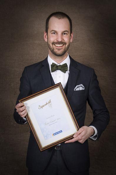 Årets Lasse på Stjärnkväll 2015 - Foto av Sandbergs Foto i Sollefteå