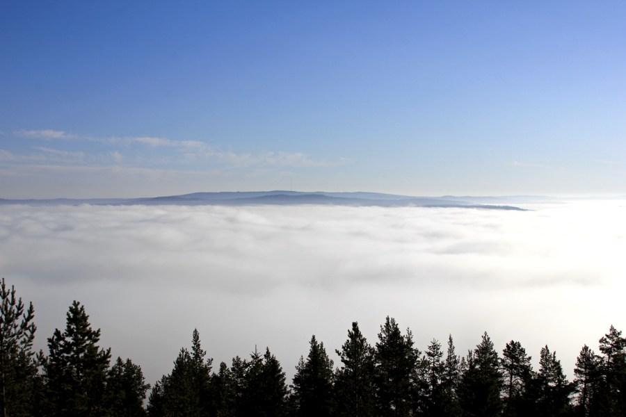 Ovan molnen i Sollefteå
