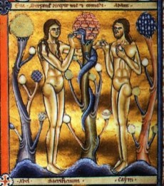 the-canturbury-psalter-adam-and-eve-and-the-mushroom-of-knowledge-1147-ce