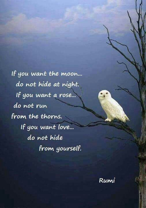 rumi love and yourself
