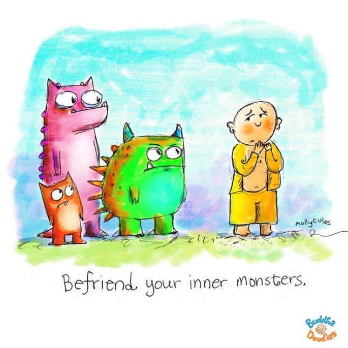 befriend your inner monster