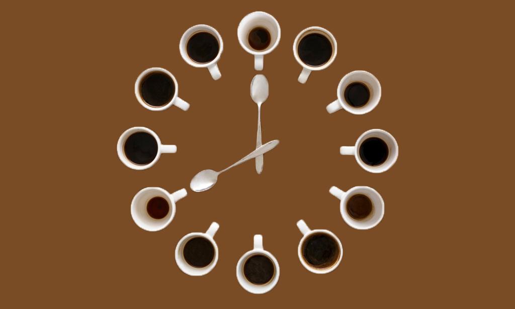 Go easy on the caffeine