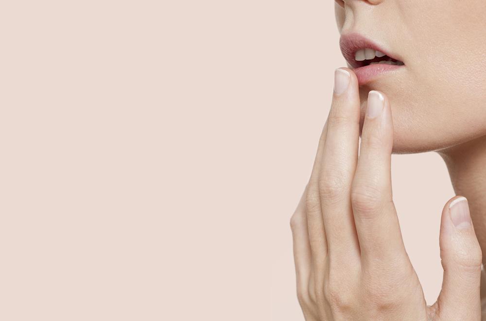 How do lips start getting darker?