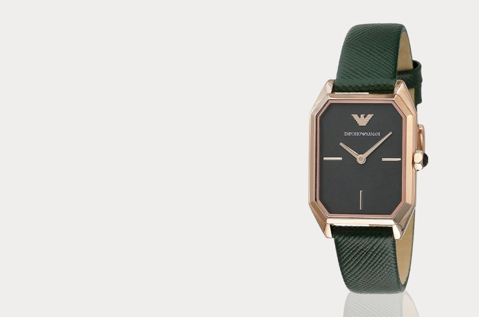 Gioia watch in the green strap - AR11149