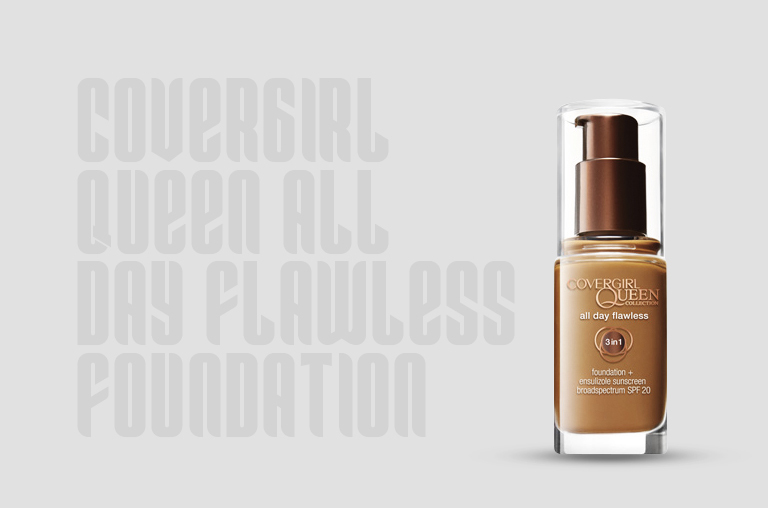 Covergirl Queen All Day Flawless Foundation