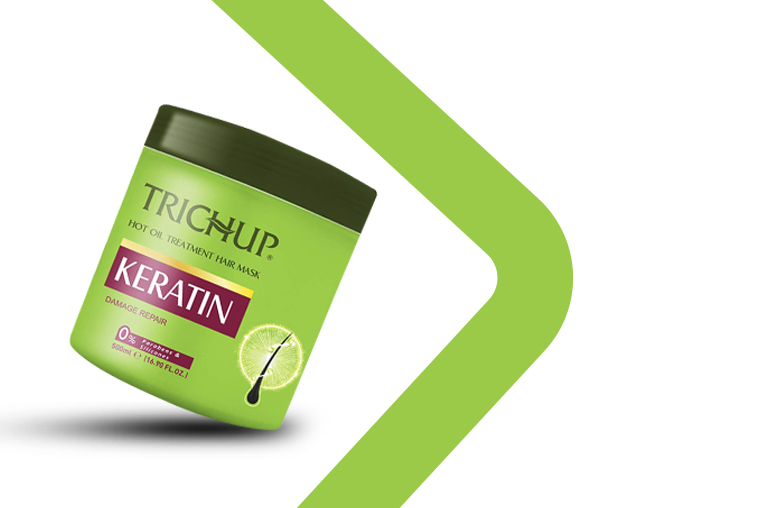 Trichup Keratin Hot Oil Treatment Hair Mask