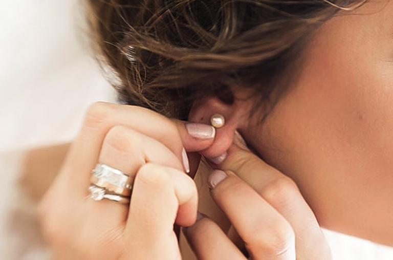 Standard Lobe Piercing