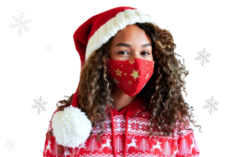 christmas face masks for adults