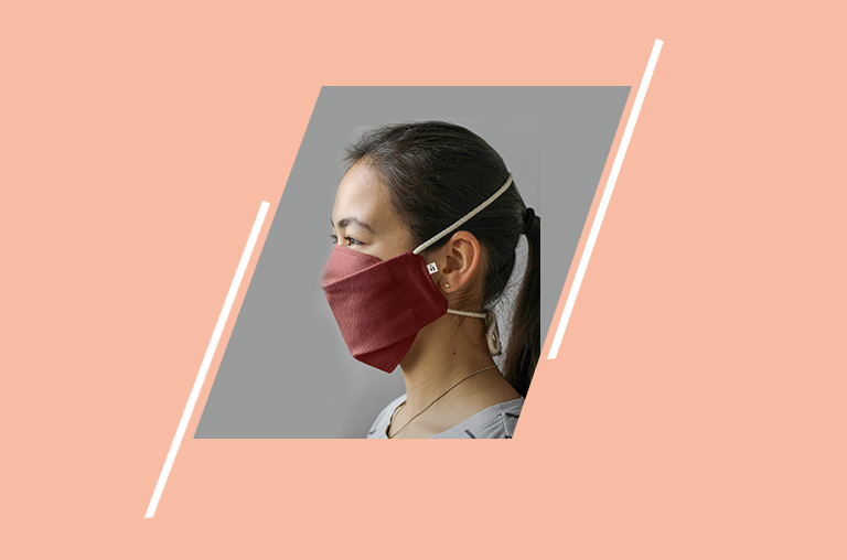 Over-Head Cotton Face Mask