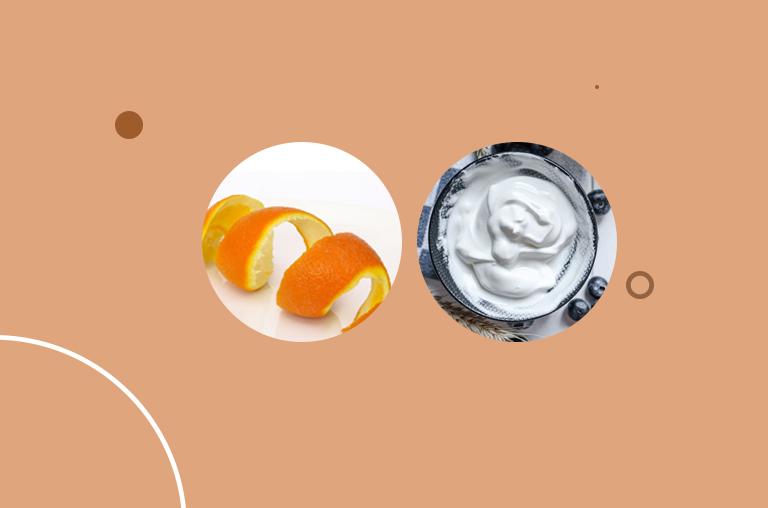 Orange Peel and Yogurt