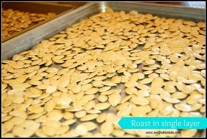 roast in single layer