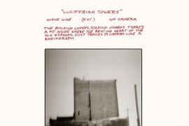 """Cover image of GY!BE's new album """"Luciferian Tower"""""""