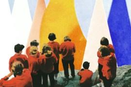 "Cover image of Alvvays' new albul ""Antisocialities"""