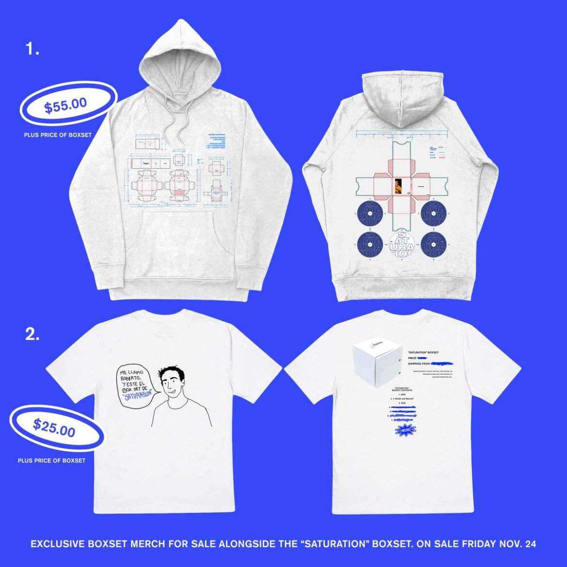 Saturation 3 deluxe set