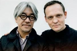 Ryuichi Sakamoto and Alva Noto