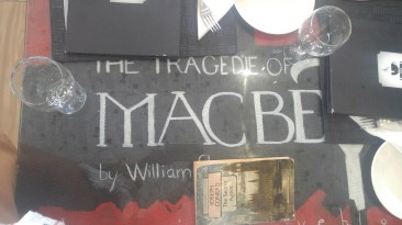 Macbeth cover table top