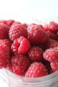 End of Season Raspberries