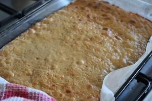 Bake for a further 10-15 minutes until lightly golden.