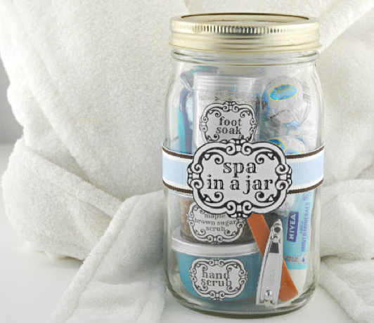 Luxuriate your lovely with a spa in a jar