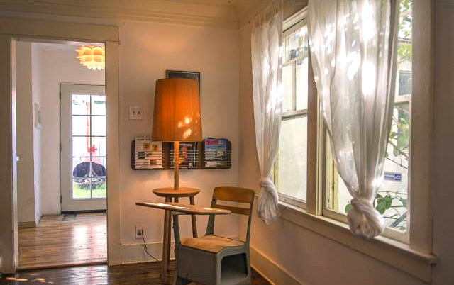 Original casement windows throughout
