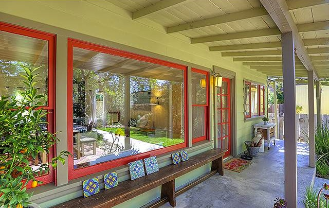 Breezy front porch