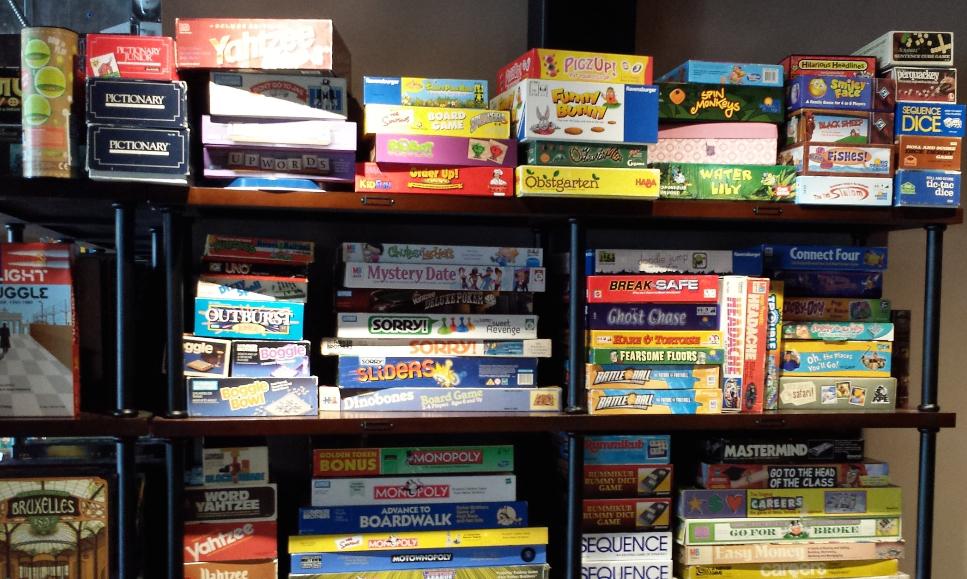 A tiny sampling of games