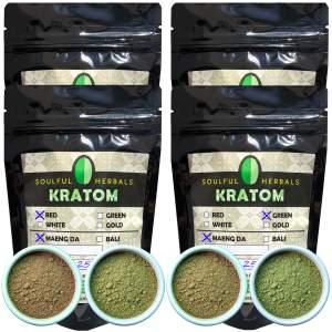 4 Way Split Kilo Kratom Powder