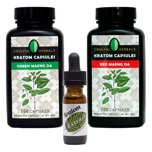 200 Kratom Capsules + 15ml Liquid Kratom Extract