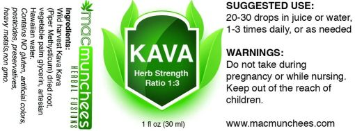 Non-Alcohol Kava Extract