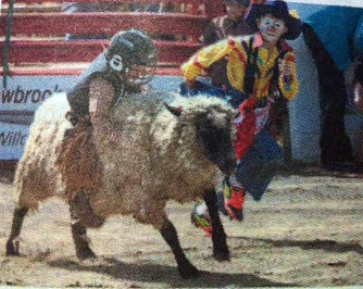 Children at Cloverdale Rodeo, BC, Canada - taken by Glynn Manyirons, Canada