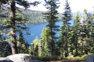 Emerald Bay, Lake Tahoe, USA taken by Sue Ellam, London, UK