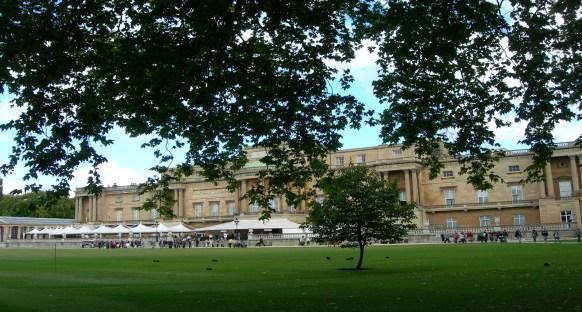 Rear of Buckingham Palace by Sue Ellam, London, UK