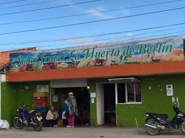 Local store in Berlin, Santander, Colombia. Taken by Peter Thompson.