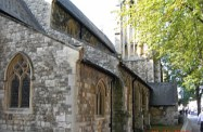 West London church taken by Sue Ellam, London, UK