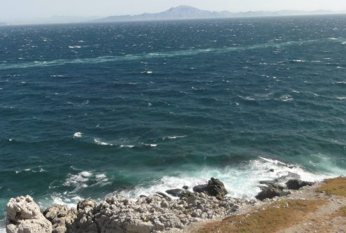 At the southern most point of Gibraltar. Taken by Peter Thompson, UK,
