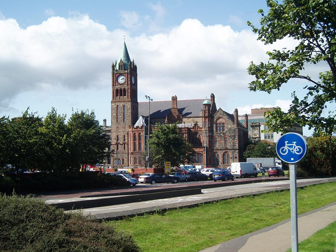 The Guildhall, Derry/Londonderry, UK. Taken by Peter Thompson