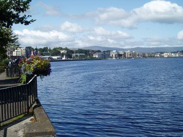 River Foyle, Derry/Londonderry, UK. Taken by Peter Thompson