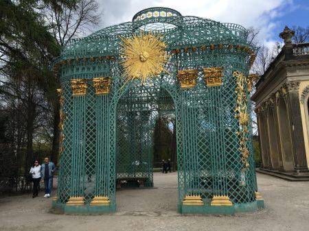 Sun Arch at Sanssouci Palace, Potsdam, Berlin, Germany. Taken by Ervin Corzo