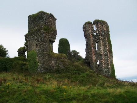 Ruins of 14th Century Northburgh Castle, Greencastle, Co Donegal, Ireland. Taken by Peter Thompson.