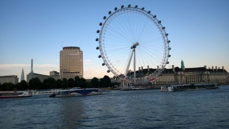 London Eye, South Bank, London, UK. Taken by Ervin Corzo