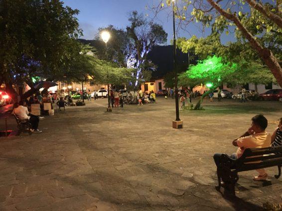 Night scene in Girón, Santandar, Colombia. Taken by Ervin Corzo.