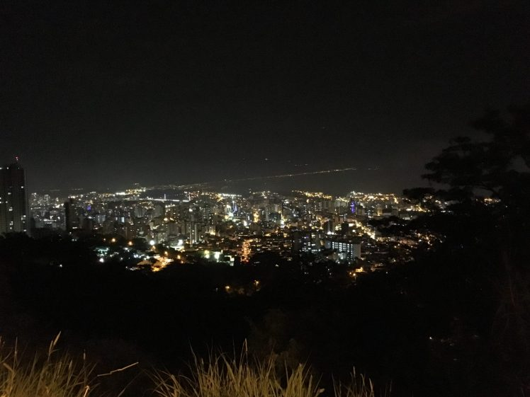 Night over Bucaramanga, Santandar, Colombia. Taken by Peter Thompson.