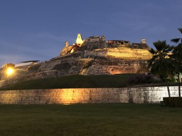 Castillo San Felipe de Barajas, Cartagena, Colombia. Taken by Peter Thompson