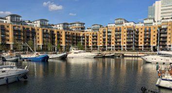 St. Katherine Docks, London, UK. Taken by Peter Thompson.