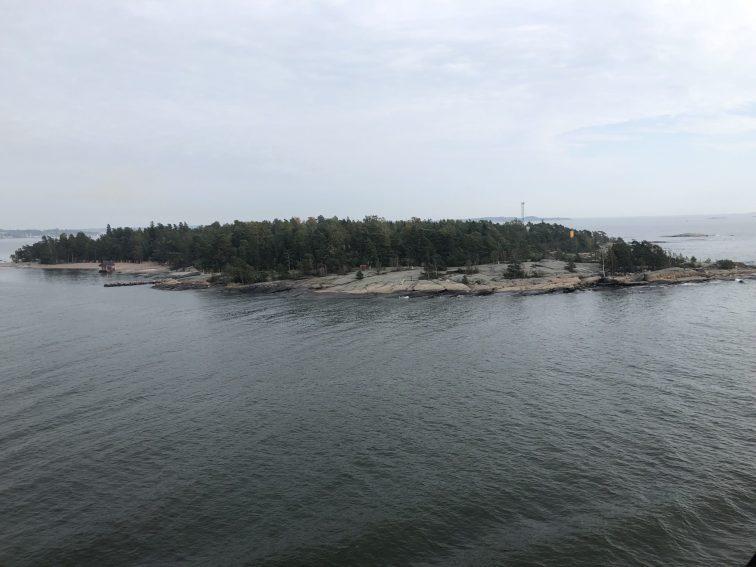 An island in Baltic Sea off Helsinki, Finland. Taken by Peter Thompson