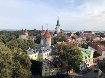 View over old town of Tallinn, Estonia. Taken by Ervin Corzo