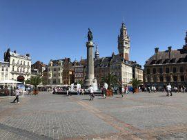 Place du Général de Gaulle, Lille, France. Taken by Peter Thompson.
