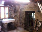New sink and doorway